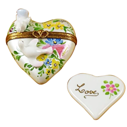 $329.00 Heart W/Two Doves
