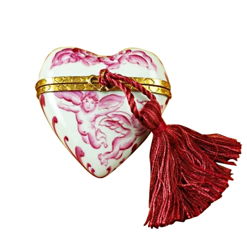 Heart Pink Angel W/Tassel image