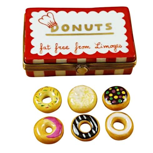$259.00 Donut Box W/Six Donuts