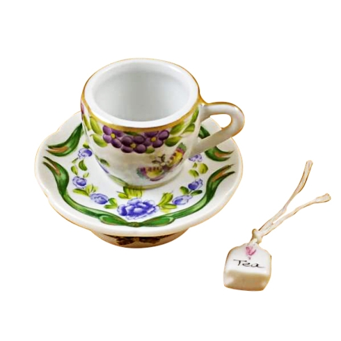 $259.00 CUP & SAUCER - BUTTERFLY