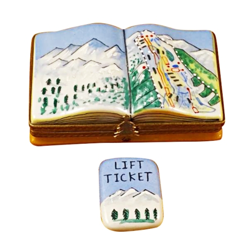 $269.00 Trail Map W/Removable Lift Ticket