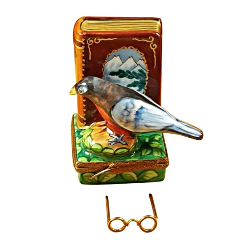 $289.00 NORTH AMERICAN BOOK OF BIRDS WITH REMOVABLE GLASSES