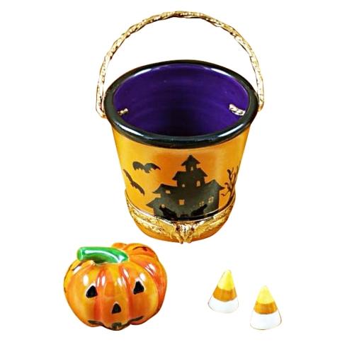 $289.00 Halloween Pail W/Pumpkin