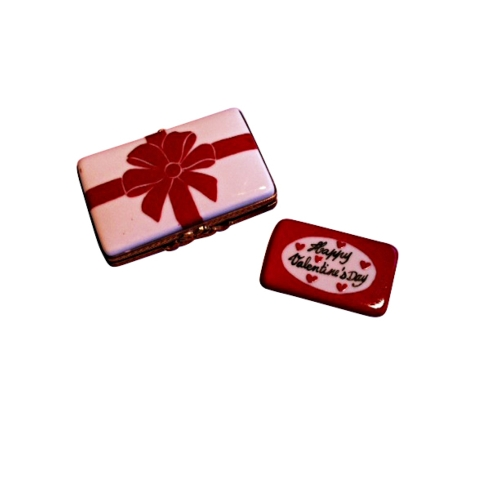 $179.00 Gift Box With Red Bow - Happy Valentine\'S Day