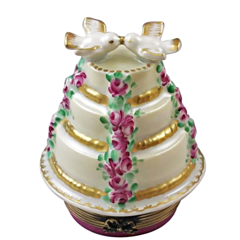 $229.00 FOREVER LOVE THREE TIER CAKE WITH DOVES