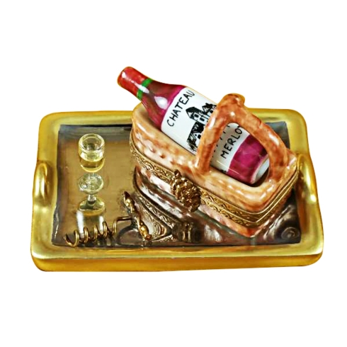 $399.00 Tray W/Wine Tasting Basket