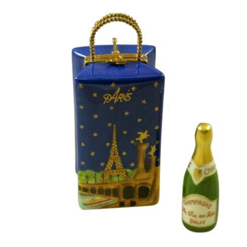 $269.00 Paris by Night Gift Bag with Champagne