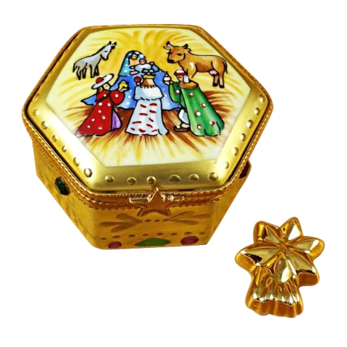 $259.00 Octagon Nativity W/Star
