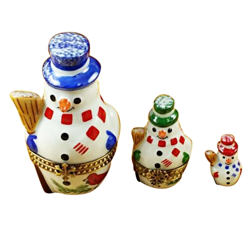 $369.00 Nesting Snowman Set