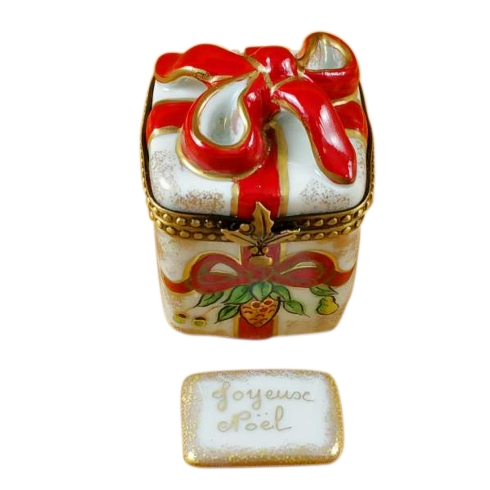 $229.00 Red Ribbon Christmas Box W/Plaque