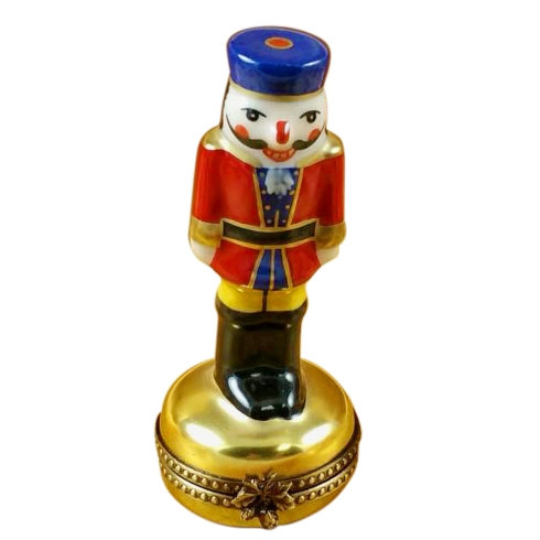 $229.00 Nutcracker On Gold Base