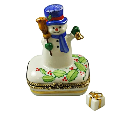 $259.00 SNOWMAN WITH BLUE SCARF