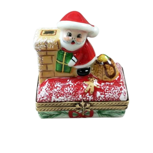 $209.00 SANTA ON ROOF WITH GIFT BAG