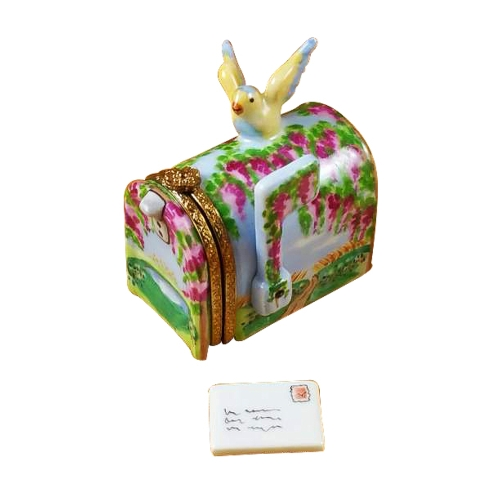 $259.00 Mailbox Wisteria Yellow Bird