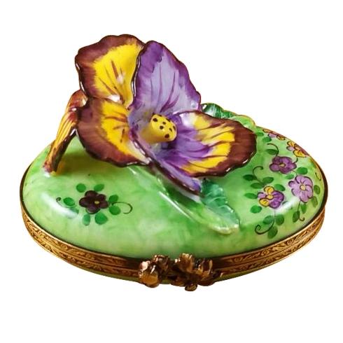 $349.00 Pansy - Purple & Yellow