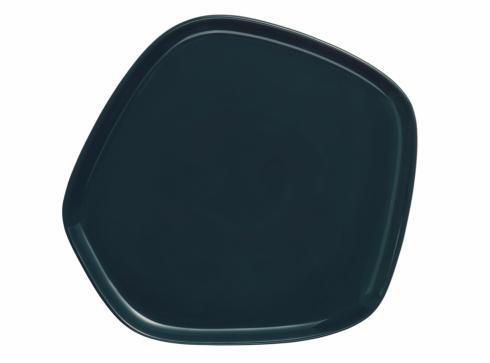 "$60.00 Platter 8.4"" x 8"" Dark Green"