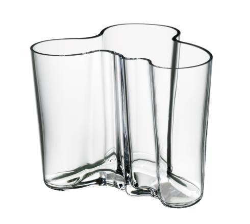 """$180.00 Vase 6.25"""" Clear"""