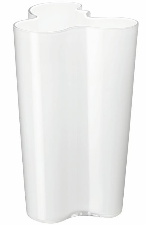 "$210.00 Finlandia Vase 10"" White"