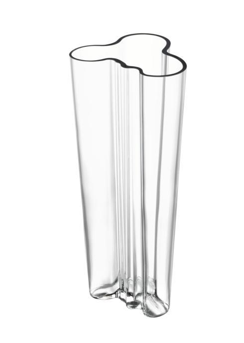 """$185.00 Vase 10.25"""" Clear"""
