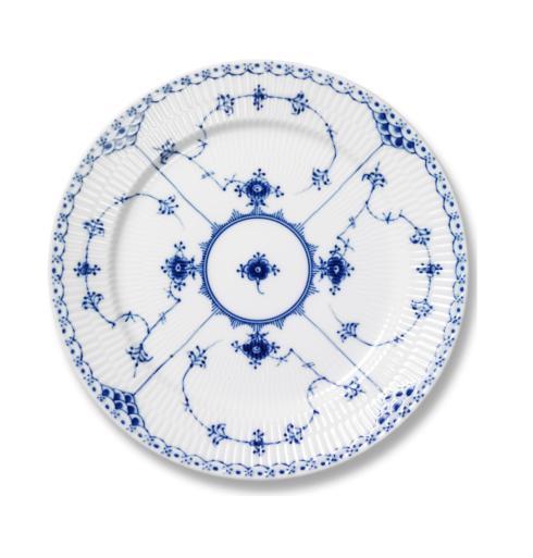 Royal Copenhagen  Blue Fluted Half Lace Dessert Plate $160.00