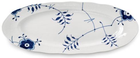 Royal Copenhagen  Blue Fluted Mega Fish Platter 23.5