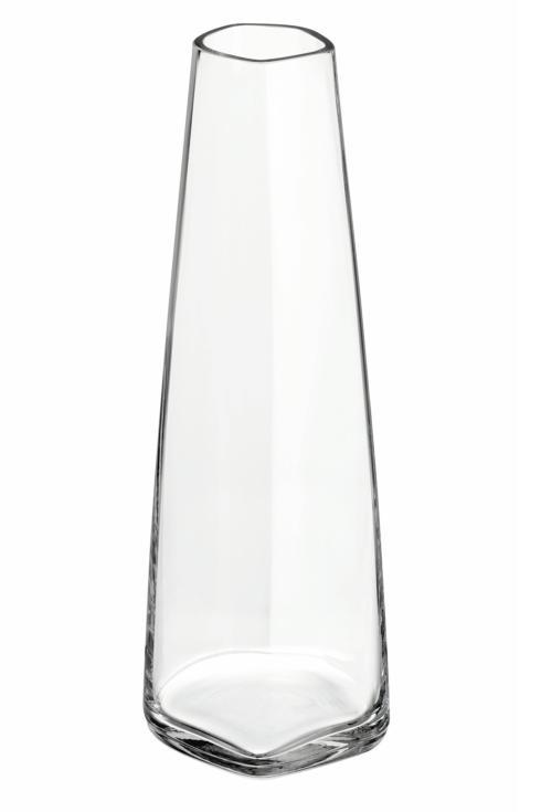 """$100.00 Glass Vase 7"""" Clear"""
