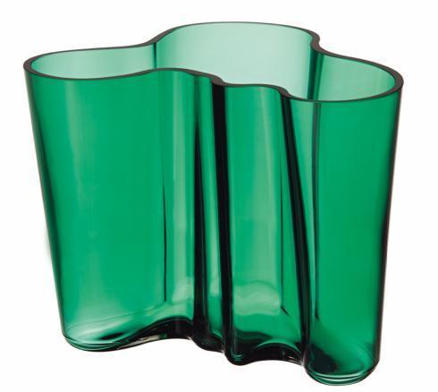 "$195.00 Vase 6.25"" Emerald"