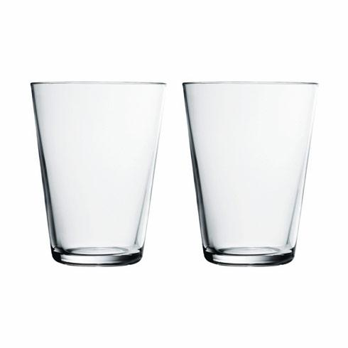 $25.00 Tumbler S/2  Clear