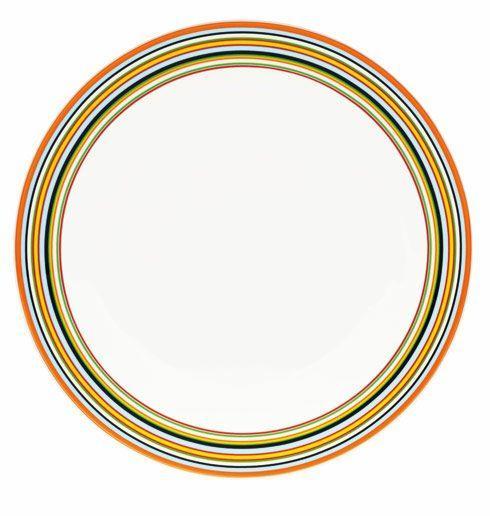 """$35.00 Dinner Plate 10.25"""" Orange"""