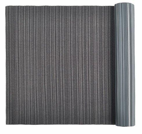 "$225.00 Interior Textile 78.75"" Pleated Dark Grey"