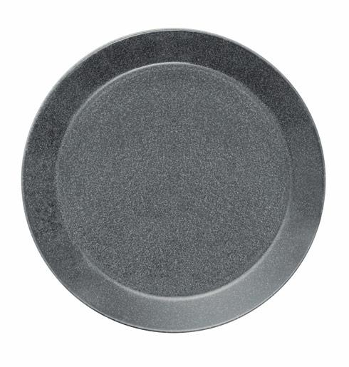 $30.00 Dinner Plate 10.25 Dotted Grey