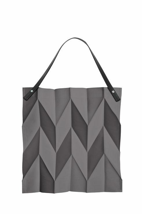"""$175.00 Bag 16.5"""" x 17"""" Dark Grey"""