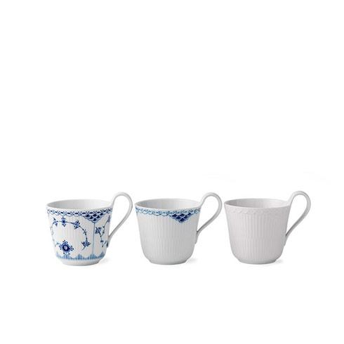 $315.00 Laced Mugs 11 Oz S/3