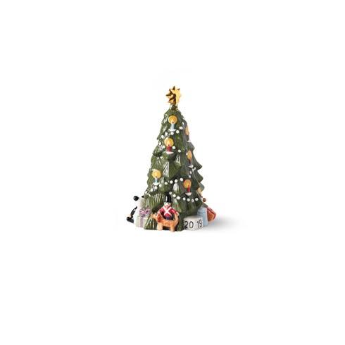 "$72.00 Annual Christmas Tree Figurine 5.7"""