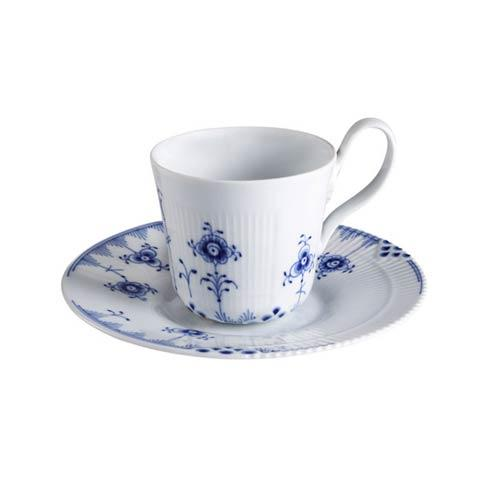 High Handle Cup & Saucer