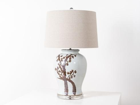 $675.00 Twisted Tree Table Lamp