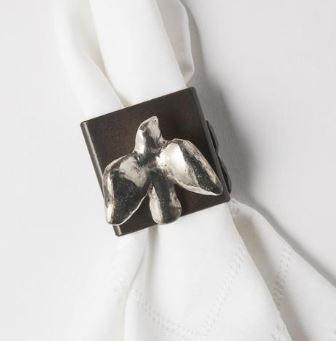 $200.00 Golondrina Napkin Ring Set of Four