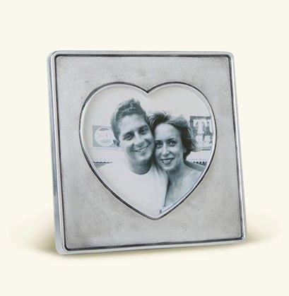 $125.00 Heart in Square Frame 5.2""