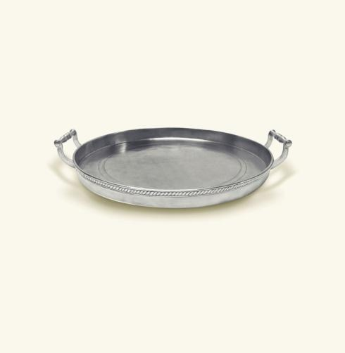 $790.00 Round Gallery Tray
