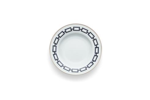 Ginori 1735  Impero - Catene Blue  Rim Soup Plate $135.00
