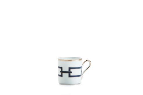 Ginori 1735  Impero - Catene Blue  Espresso Coffee Cup (non stock) $130.00