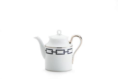Ginori 1735  Impero - Catene Blue  Coffeepot & Cover, 12 Cup (non stock) $475.00