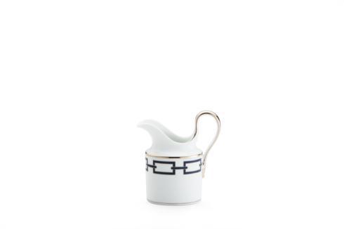 Ginori 1735  Impero - Catene Blue  Creamer - 6 Cup $235.00
