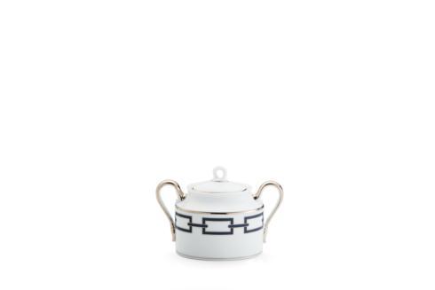 Ginori 1735  Impero - Catene Blue  Sugar Bowl & Cover, 12 Cup $395.00