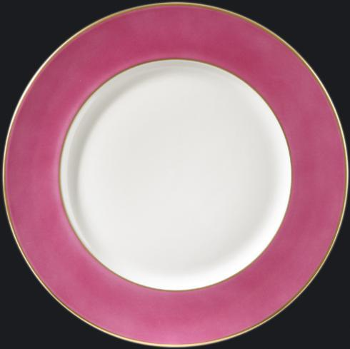 $150.00 Charger Plate with Romantic Pink Rim