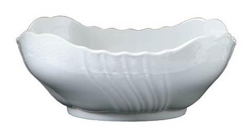 Richard Ginori 1735  Vecchio Ginori - White Square Salad Bowl $195.00