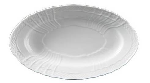 Richard Ginori 1735  Vecchio Ginori - White Oval Pickle Dish $48.00