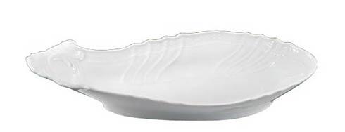 Richard Ginori 1735  Vecchio Ginori - White Shell Pickle Dish $52.00