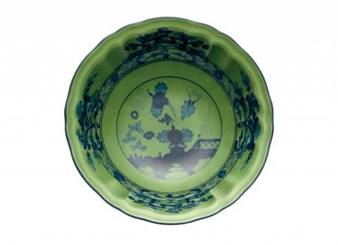 Ginori 1735 Oriente Italiano Malachite Fruit Bowl $65.00