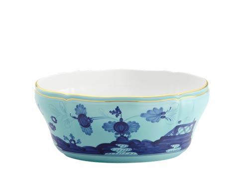 Ginori 1735 Oriente Italiano Iris Oval Salad Bowl $495.00